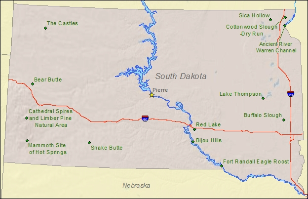 South Dakota National And State Parks  Travel Around USA